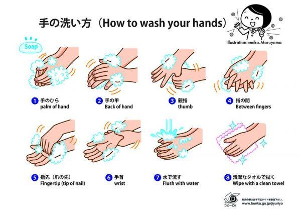 わかりやすい手の洗い方